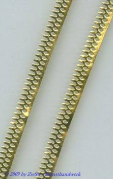 Metallband, Farbe gold, 8mm, 10 cm