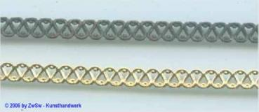 Metallband, 2 Farben, 4,5mm, 10cm