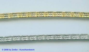 Metallband, 2 Farben, 5mm, 10cm